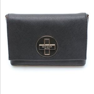 Kate Spade Sally Newbury Lane Crossbody Bag Black